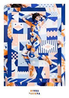 Scandinavian Spring – Le Body Painting par Janine Rewell
