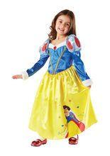 Schneewittchen Disney Prinzessinnen Märchen Winter Kinderkostüm blau-weiss aus unserer Kategorie Karnevalskostüme Kinder. Bei diesem Schneewittchen würde sogar die gemeinste Stiefmutter handzahm werden. Einfach ein fantastisches Kinderkostüm, das eines der wohl schönsten Märchen wieder zum Leben erweckt!