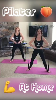 This Pilates Bar Lets You Workout From ANYWHERE! At Home Workouts Have Never Been Easier!