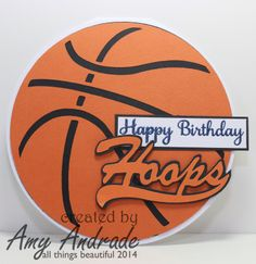 all things beautiful: Card Making Monday-Hoops
