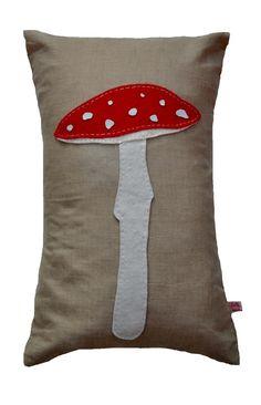 Tall Toadstool Cushion £35.00