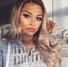 Watch live girls for free @ Freebestcams . Makeup Tips, Beauty Makeup, Hair Beauty, Beauty Style, Fashion Beauty, Balayage Blond, Blonde Hair, Makeup On Fleek, Hair 2018