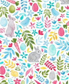 Wallpaper Kawaii, Easter Wallpaper, Spring Wallpaper, Iphone Wallpaper, Easter Paintings, Easter Backgrounds, Ipad Background, Gift Wrapper, Diy Easter Decorations