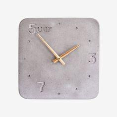 Clock | Concrete product design | Concrete design | Beton design | Betonlook | www.eurocol.com