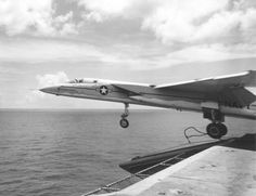 launches from USS Saratoga during carrier evaluation 1960 Old Brown Shoe, Naval Aviator, Vigilante, Air Machine, Aircraft Carrier, Us Navy, Vietnam War, Military Aircraft, Fighter Jets