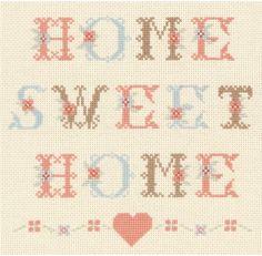 Home Sweet Home - Cross Stitch Kit