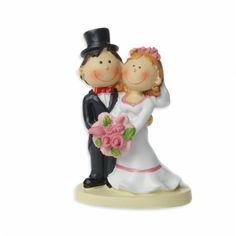 """Tortenfigur klein """"Brautpaar stehend"""""""