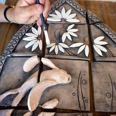 Maggie Betley Daisy Fish Tiles