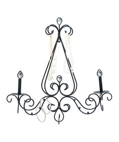 Look at this Chandelier Jewelry Holder on #zulily today!