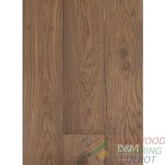 "ROYAL OAK COLLECTION, CABANA BROWN DMSR-07, 7.5"" WIDE, LONG PLANK, KLUMPP OIL FINISHED HARDWOOD FLOORING"