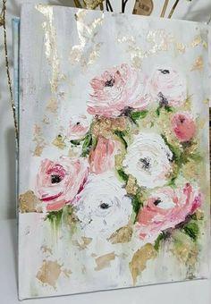 Yağlı boya güller
