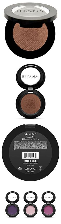 SHANY Paraben Free Silky Shimmer Eye Shadow, Contender, 1 Ounce Eye Primer, The Masterpiece, Makeup Set, Paraben Free, Makeup Palette, Eye Shadow, Eyes, Beauty, Rolling Makeup Case
