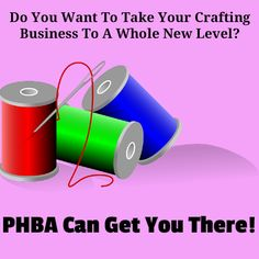 Create a business in crafting that you OWN , not some website company. I offer FREE mentoring to members of PHBA! #home #business #online #business #crafting #Business