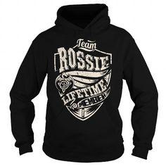 Team ROSSIE Lifetime Member (Dragon) - Last Name, Surname T-Shirt - #gifts for girl friends #gift basket. Team ROSSIE Lifetime Member (Dragon) - Last Name, Surname T-Shirt, photo gift,gift amor. WANT IT =>...
