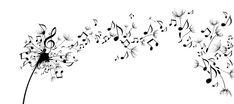 dandelion music note light up decor - Google Search