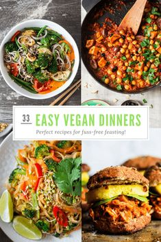 Healthy fast food 13 amazing vegan recipes that are far from junk 33 easy vegan dinner recipes for when you need food without fuss forumfinder Choice Image