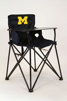 Ready for the final 4 Michigan high chair Ciao! Baby Portable High Chair