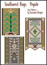 SOUTHWEST NAVAJO RUGS - PEYOTE STITCH by Suzanne Cooper