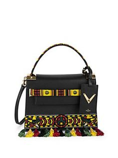 fa51a23f7389 Valentino - My Rockstud Small Jamaican Beaded Leather Bag Valentino Bags