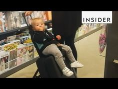 Suitcase turns into a baby stroller - Business Insider