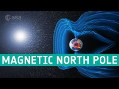 """The location of Earth's north magnetic pole appears to be controlled from deep within Earth by 2 competing blobs in the magnetic field. One is under Canada, and the other is under Siberia. """"The Siberian blob is winning,"""" according to scientists. Interesting Science Facts, Fun Facts, Disney Christmas, Kids Christmas, International Date Line, Outer Core, Polo Norte, Current Location, Magnetic Field"""