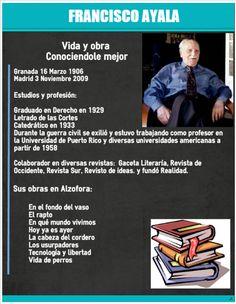 Alzofora Libros: Francisco Ayala
