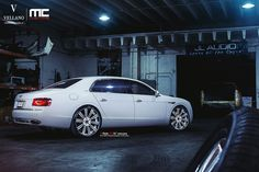 bentley with rims   2014 Bentley Flying Spur on Vellano Wheels!   Vellano Forged Wheels ...