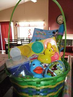 Easter basket for little boy