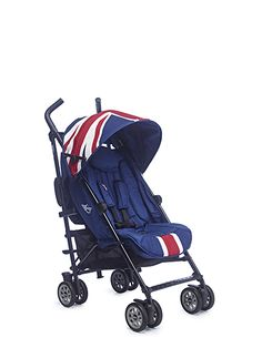 Easywalker Mini Buggy and Mosquito Net - Union Jack Classic