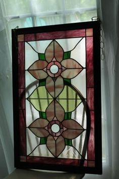 Stained Glass Window Panel by tammie