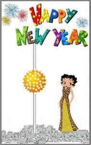 Resultado de imagen de betty boop new years pictures
