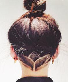 Hidden Undercut - Nails, Toenails, Hair, Tattoo art, Trends!