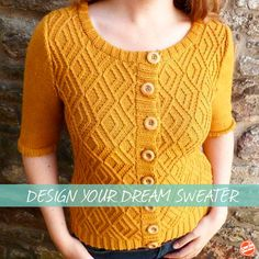 Learn to design the sweaters of your dreams in this free, downloadable 20-page guide. Filled with tips, tricks and exclusive tutorials, it's an invaluable knitting resource!