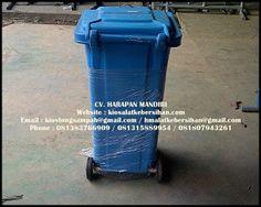 CV.HARAPAN MANDIRI: Tong Sampah Fiber 120 Liter