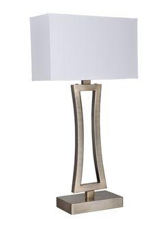 Stolní lampa SEARCHLIGHT SL 4081AB | Uni-Svitidla.cz Moderní pokojová #lampička vhodná jako doplňkové osvětlení domácnosti či kanceláře #modern, #lamp, #table, #light, #lampa, #lampy, #lampičky, #stolní, #stolnílampy, #room, #bathroom, #livingroom