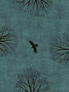 Toni Demuro Illustrations: tree 058 (ultimo viene il corvo. Italo Calvino)