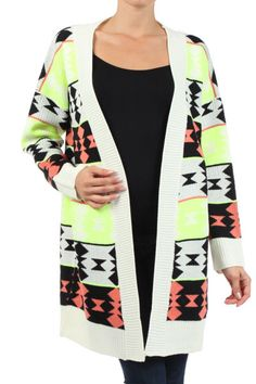 Going Tribal Sweater - $48 www.elliejboutique.mysupadupa.com