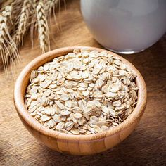 Oats http://www.prevention.com/health/how-to-lower-cholesterol-naturally/slide/1