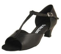 Go Go Dance Shoes Womens 7040 Black Leather Sandal Size 95 US   Check out  the 8480fdd56