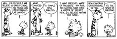 So it's good to keep up a level of pragmatism… | The 24 Most Valuable Christmas Lessons From Calvin And Hobbes