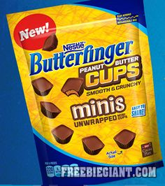 $1 Off NESTLE BUTTERFINGER Peanut Butter Cups-Printable Coupon - http://freebiegiant.com/1-off-nestle-butterfinger-peanut-butter-cups-printable-coupon/ Walmart is offering you a $1 off Nestle Butterfinger Peanut Butter Cups printable coupon. but you must be a US resident to get this offer.  If you would like to get your $1 off Nestle Butterfinger Peanut Butter Cups coupon, simply click here to print. You can only print off one coupon and you...