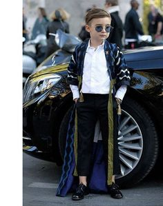 Paris Fashion Week Diary: Alonso Mateo, Fashion's Chicest 7-Year-Old | Visual Therapy