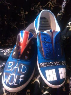 Companion Shoes Inspired by Doctor Who Rose by GallifreyanMarket