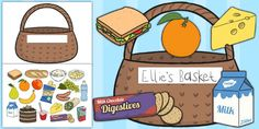 What will you take with you on a picnic? Try our Picnic Lunch Resource Pack to pack the best picnic this summer! Great for early years and learning about healthy food choices - twinkl