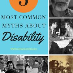The 5 most common myths about disability, according to Meriah Nichols- Are there any you'd add? Disability Awareness Month, Types Of Disability, Disability Quotes, Cerebral Palsy Awareness, Fighting Depression, Coping With Depression, Depression Awareness Month, Chronic Illness Quotes, Teaching Special Education