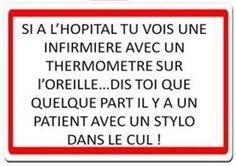 Humour infirmière