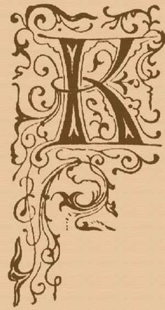 Letter K rubber stamp Wood mounted 1.25x0.75
