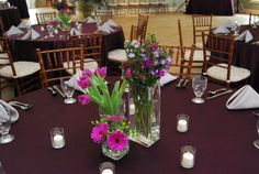 The Gala Event - Chambersburg, PA - Our creative team has assembled these beautiful floral designs. Contact us today for custom floral arrangements! #TheGalaEvent #pinkwedding