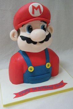 Mario Bross 3D cake