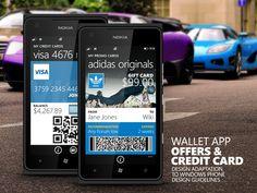 WP Wallet app redesign